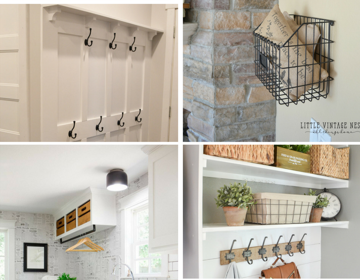 5 Simple Systems For Mudroom Organization