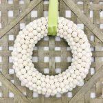 Pom Pom Wreath DIY