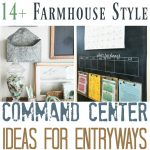 14+ Farmhouse Style Entryway Command Centers