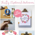 Decorate For Easter In Minutes With This Thrifty Clipboard Makeover