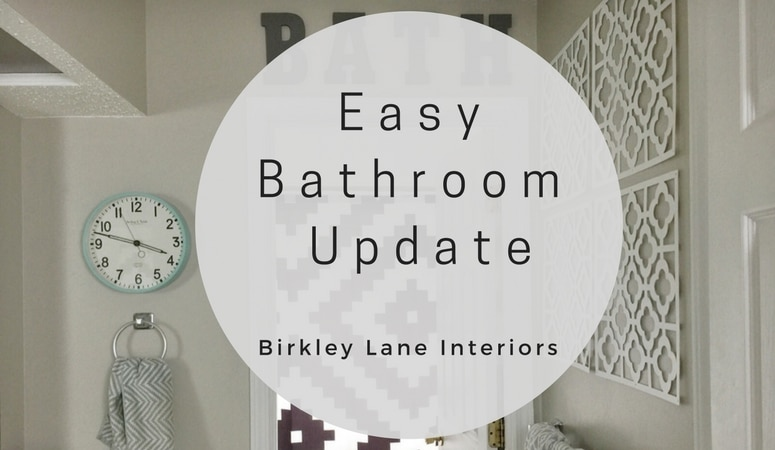 Home Decor, Easy bathroom update, cheap bathroom update, fast bathroom update, bathroom printables