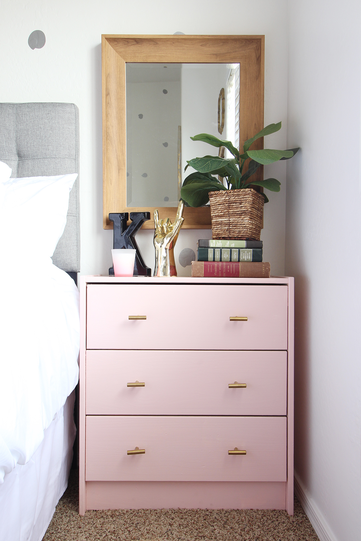 10 Pink Furniture Makeovers Every Furniture Lover Must See The Weathered Fox