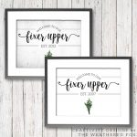 Welcome to Our Fixer Upper (Free Printable)