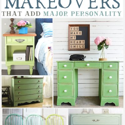 Green Painted Furniture Inspiration