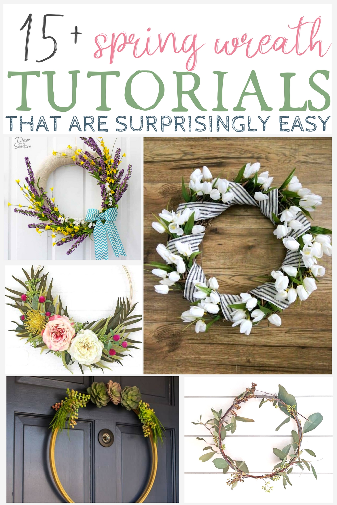 Diy Spring Wreath Tutorials That Are